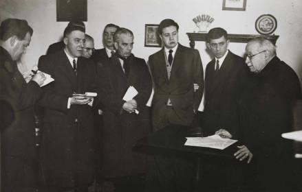 1948-07-12 Conferência de imprensa de apresentação pública da candidatura de Norton de Matos à Presidência da República