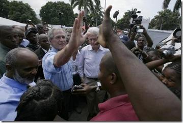bush_haiti