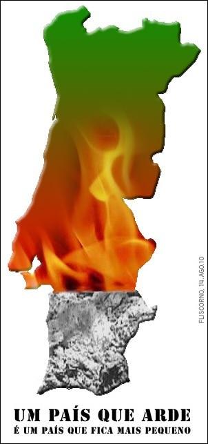 portugal queimado