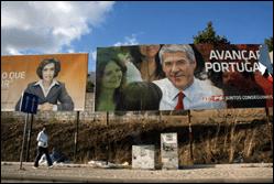 Cartazes eleições legislativas 2009