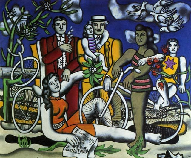Fernand Léger, As Férias (homenagem a Louis David), 1948-49