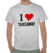 take away coração