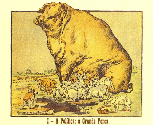 a grande porca politica