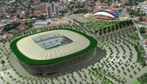 Estádio: Cidade da Copa, Recife Valor estimado do estádio com infra-estrutura: R$ 1,6 bilhão...