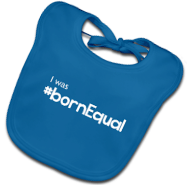 born-equal-bib