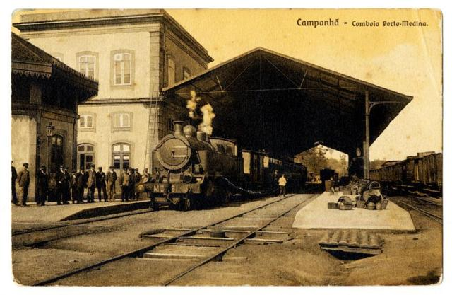 Campanhã  comboio Porto-Medina