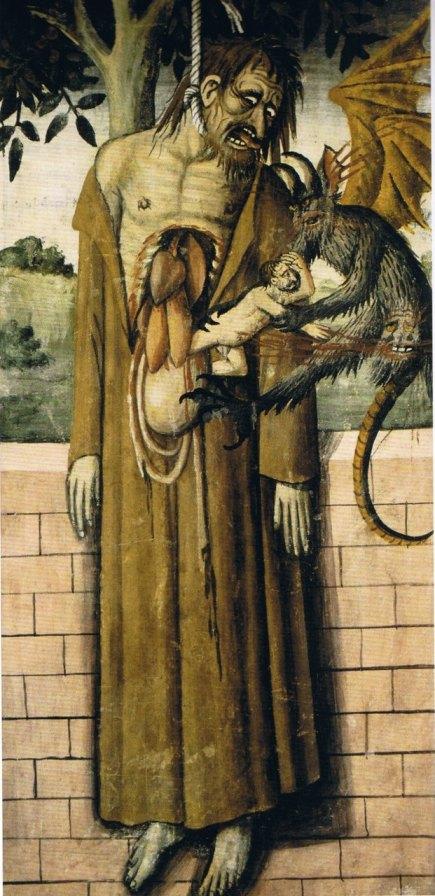 Giovanni Canavesio_ A Morte de Judas