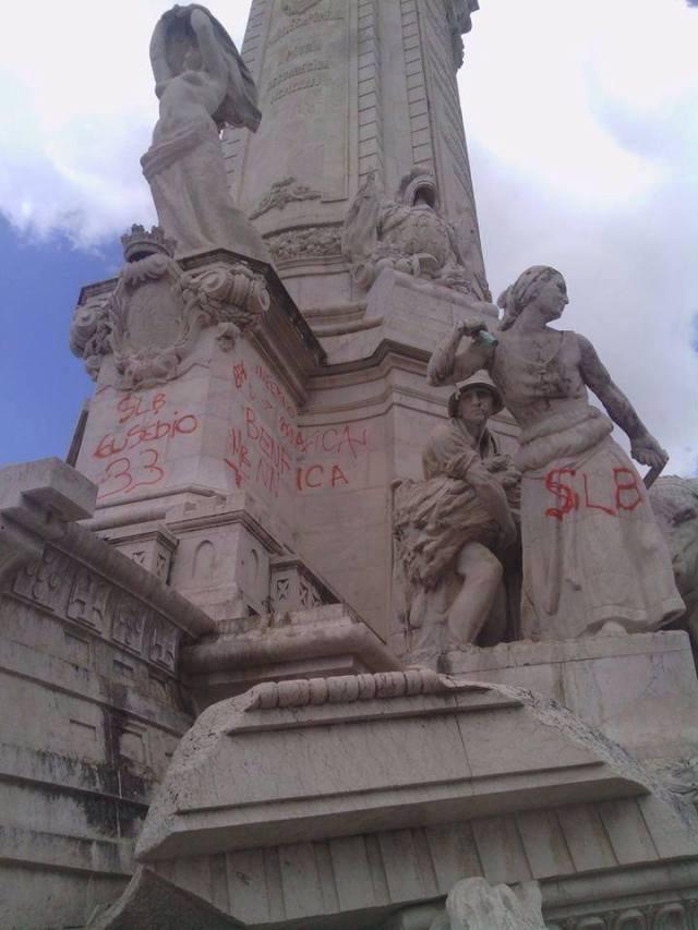 marques pombal vandalismo