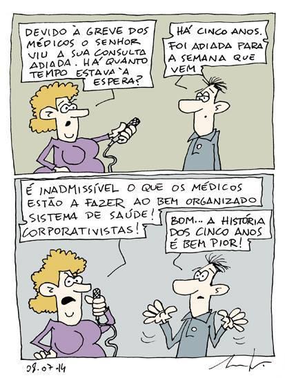 greve dos medicos