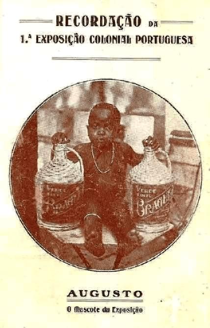 Augusto, o menino guineense  Exposição Colonial Portuguesa 1934