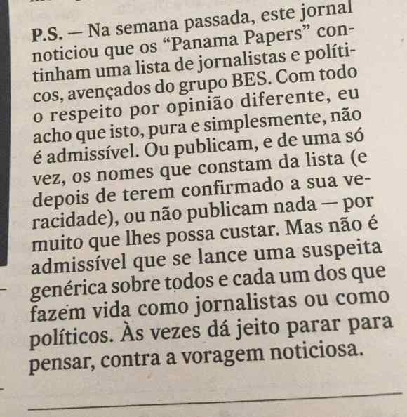 6f3a2ec79e9d3 Já passaram algumas semanas desde o início do escândalo Panama Papers. A  imprensa portuguesa envolvida na investigação – Expresso e TVI – promete