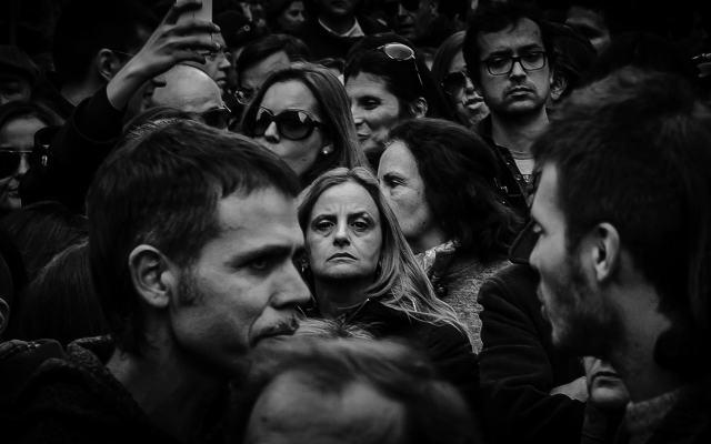Manifestação Anti-Troika. Porto, 2 de Março de 2013. © Bruno Santos