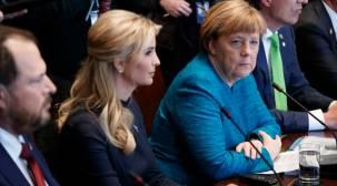 Ivanka e o nepotismo na realidade, onde ela ocupou o lugar do pai na Cimeira do G20 de Hamburgo.