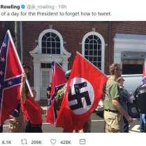 Hoje Trump esqueceu-se do Twitter