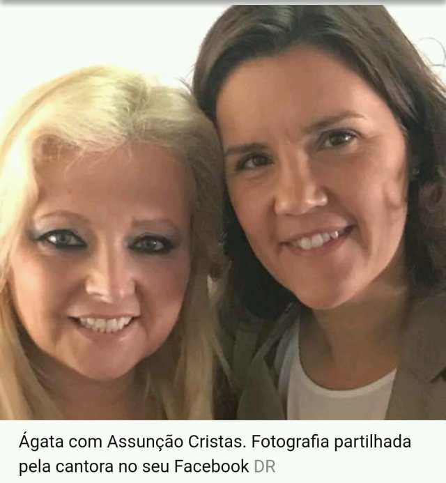 Ágata e Cristas