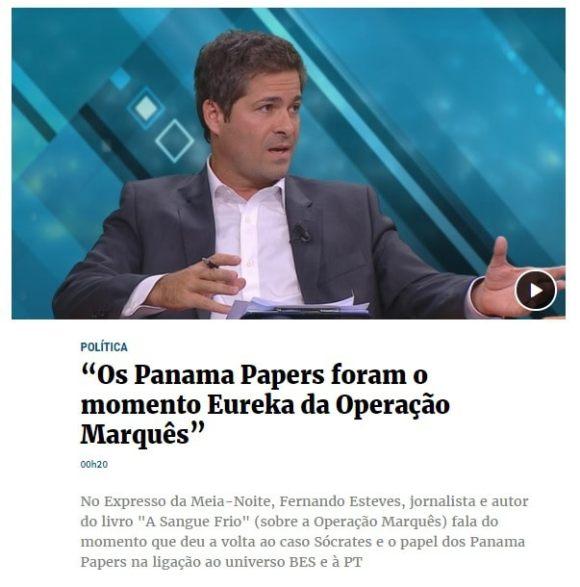 c1d88e1b4bbd3 Operação Marquês e Panama Papers  e a lista dos jornalistas avençados