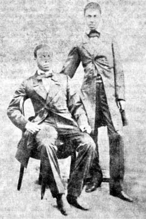Os Irmão Antônio e André Rebouças foram os primeiros engenheiros negros brasileiros.
