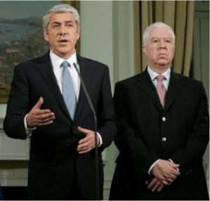 Sócrates e Teixeira dos Santos
