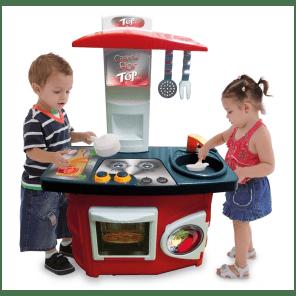 Uma cozinha que podemos presentear nosso meninos - Adoro essa opção da Xalingo