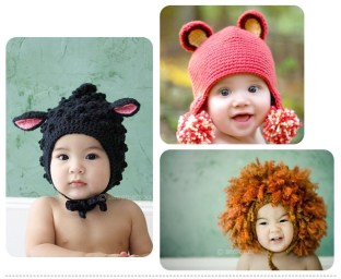 chapeu-gorro-beb-criana-infantil-crochet-for-kids-knitting-hats-baby-hats-21