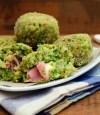 tapas de brocoli rellenas