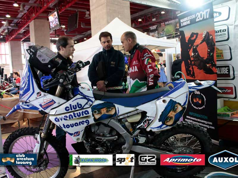 El Club Aventura Touareg, en MotoMadrid 2018