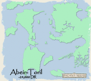 Abeir-Toril cerca de -24.000 CV