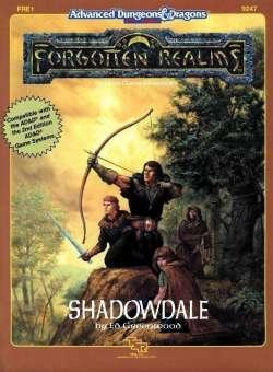 Aventura - Shadowdale (capa)