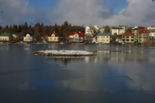 Fin de l'hiver à Reykjavik, par Pauline