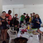Repas de Pâques avec des inconnus, Sparte, Grèce, 2015
