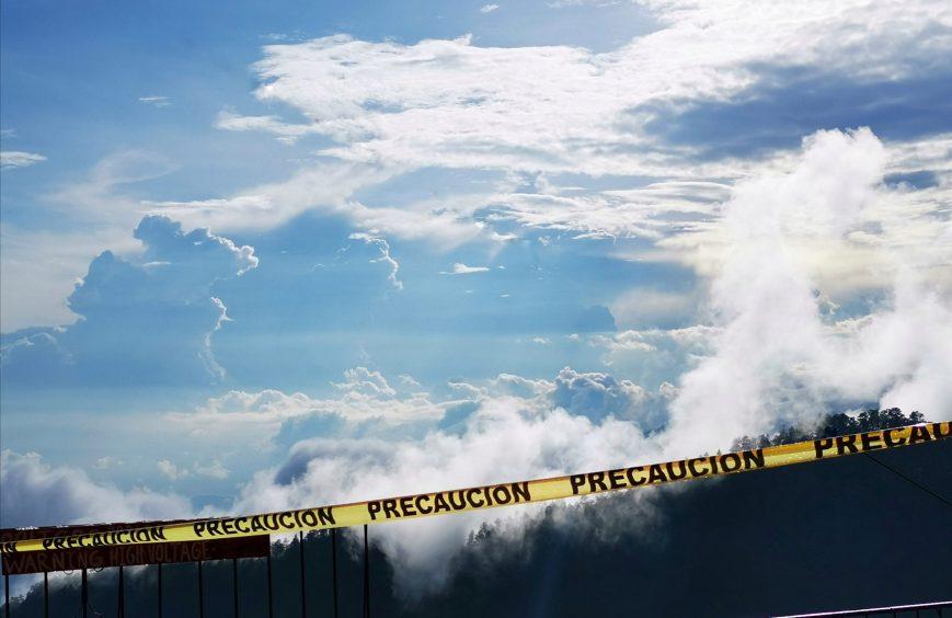 san jose del pacifico - clouds