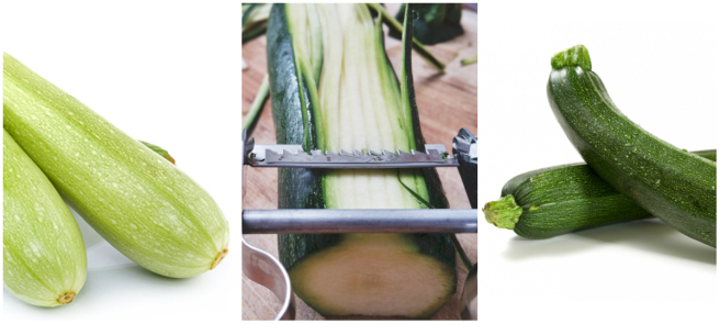 Courgette Collage