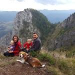Aventuri in cinci O duminica pe traseu de munte la Scarita Belioara