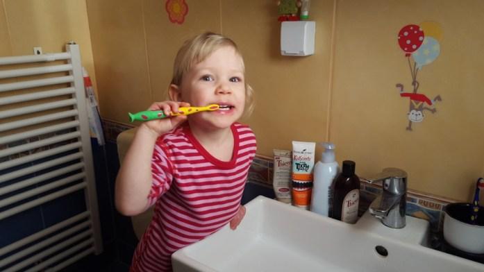 Aventuri in cinci Copilul meu nu se spala pe dinti