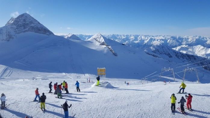 Aventuri in cinci Schi Austria Zillertal Hintertuxer