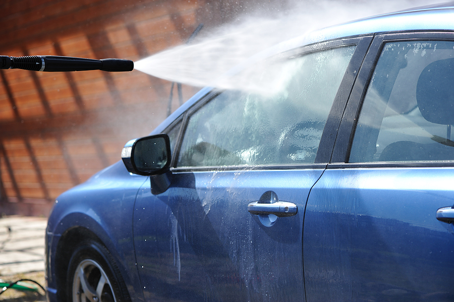 Mobile Car Washing Service by Wash Patrol at Avenue Automotive Repair in Ennis, TX