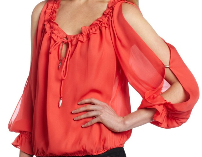 Alice Trixie Womens Marguerite Top in Poppy