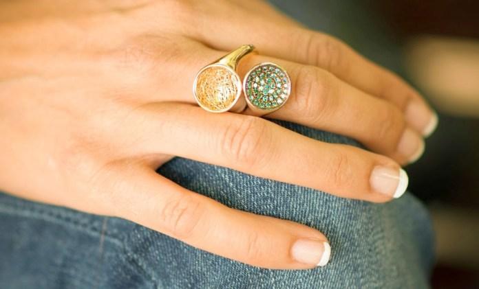 Anastazio Empress Topaz And Gold Ring