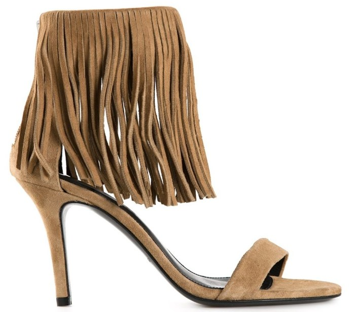 Elysewalker Los Angeles fringed sandals