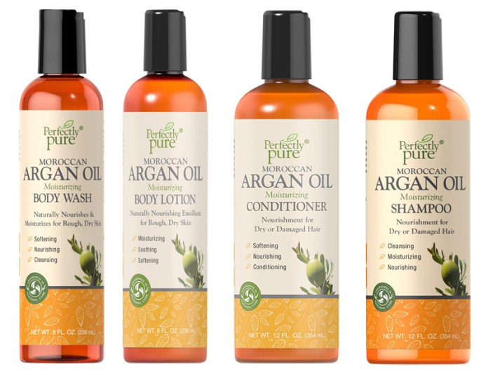Puritan's Pride argain oil shampoo conditioner body lotion body wash