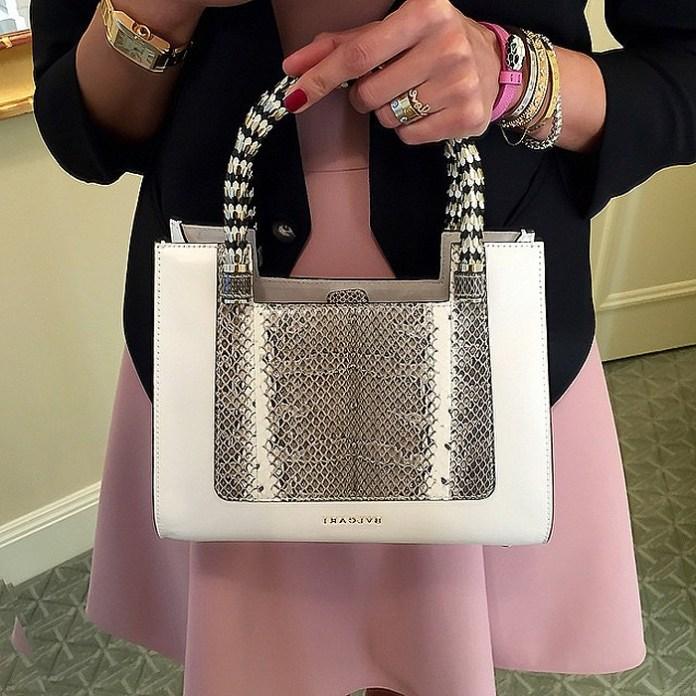 @my__closet__diaries Bvlgari bag tibi dress helmut lang blazer Cartier