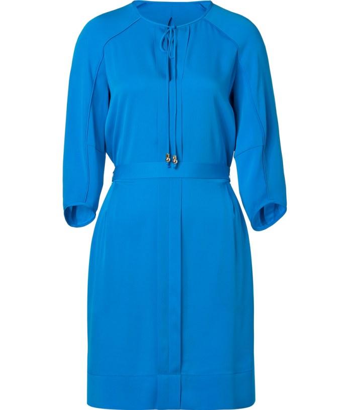 Diane von Furstenberg Electric Blue Silk Apona Dress
