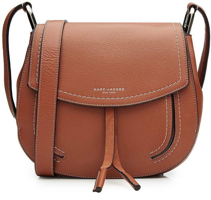 Marc Jacobs brown leather shoulder bag