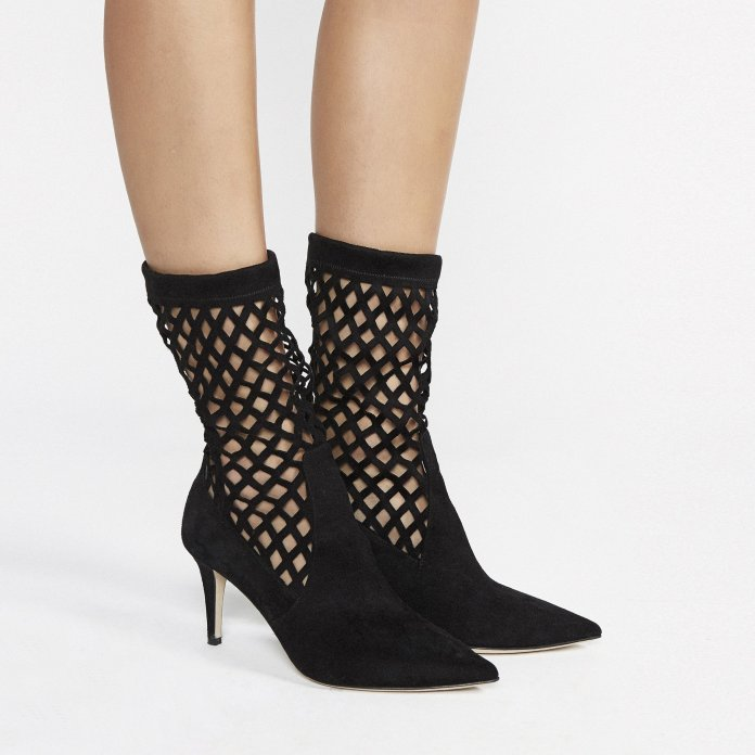 Tamara Mellon boots moriyama ankle boots in suede