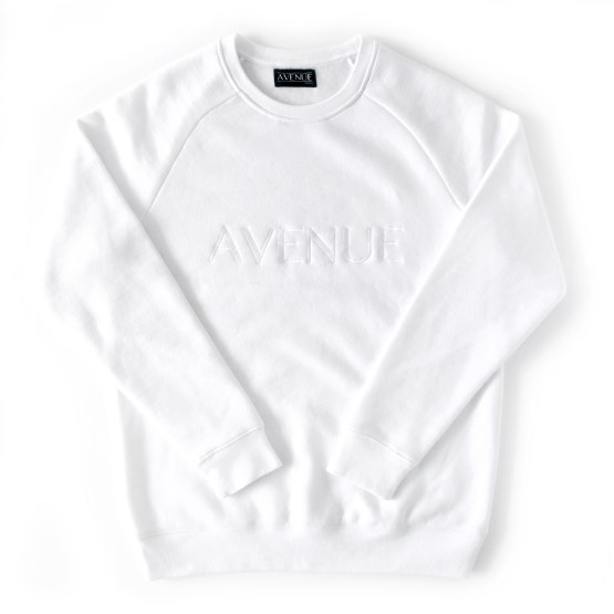 White Substance Crewneck