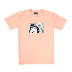 Avenue Boyfriend T-Shirt Pink Champagne
