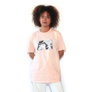 Boyfriend T-Shirt Pink Champagne