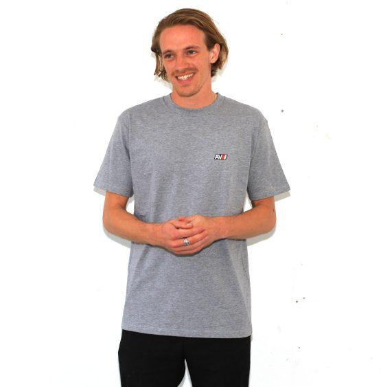 Tristan Heather Grey AV Sport T-Shirt