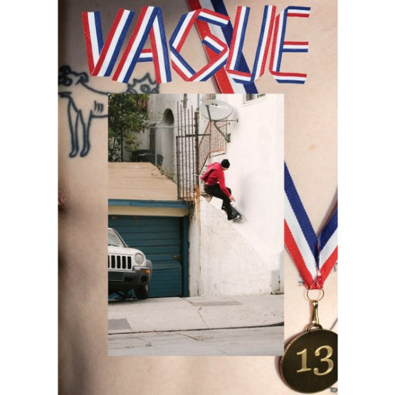Vague Skateboard Magazine Issue 13 Cover