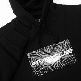 Avenue Submit Hooded Sweatshirt Black